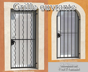 Grille ouvrante