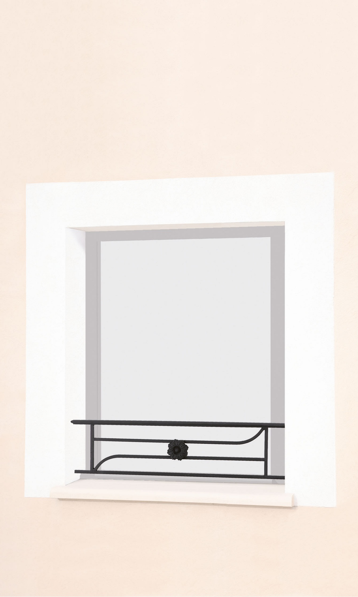 le ferronnier barre d 39 appui de fen tre en fer forg madelaine bamadelaine. Black Bedroom Furniture Sets. Home Design Ideas