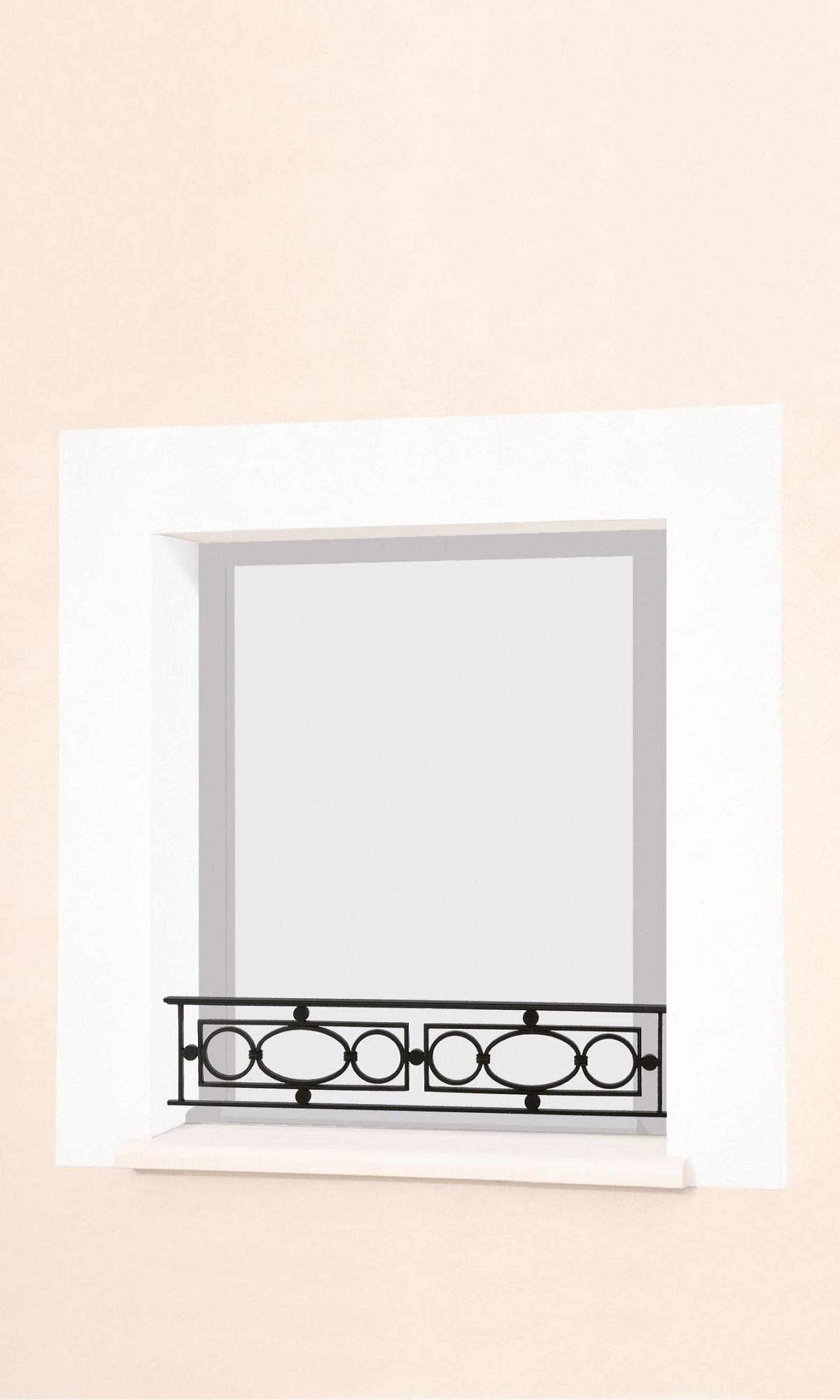 le ferronnier barre d 39 appui de fen tre en fer forg tony batony. Black Bedroom Furniture Sets. Home Design Ideas