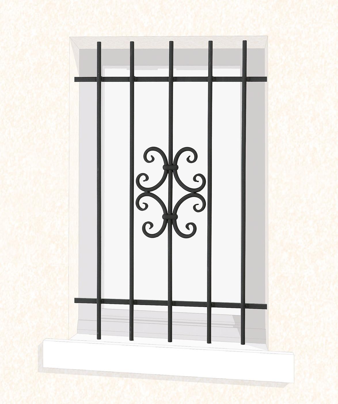le ferronnier grille de fen tre en fer forg valerie gfvalerie. Black Bedroom Furniture Sets. Home Design Ideas