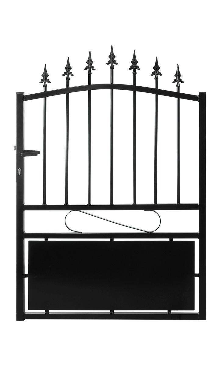 le ferronnier gamme eco portillon en fer forg mod le 1 poportillon01. Black Bedroom Furniture Sets. Home Design Ideas