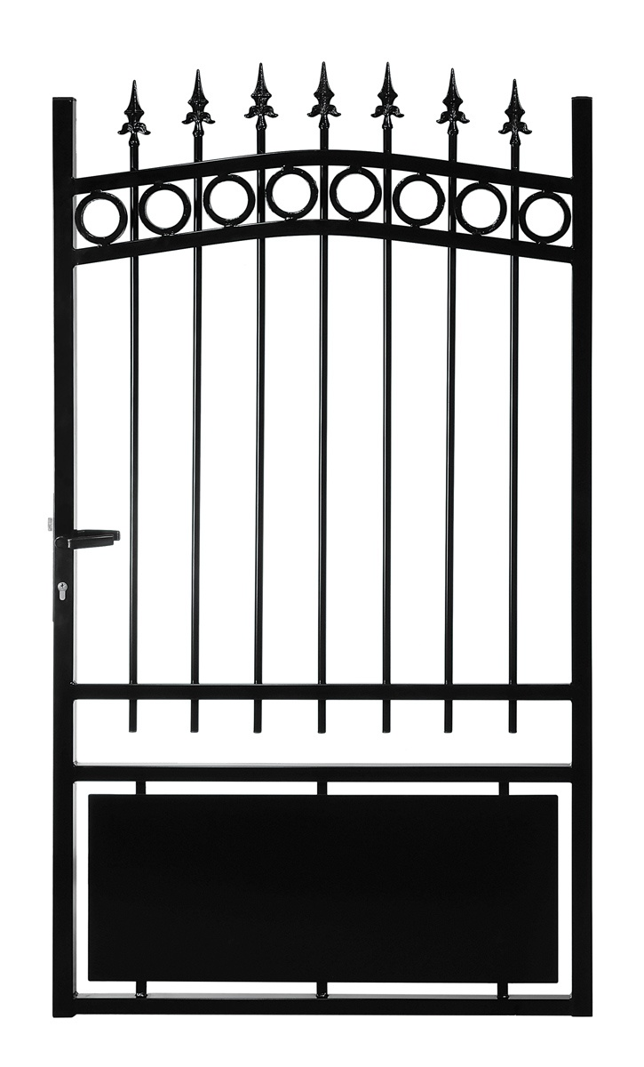 le ferronnier gamme eco portillon en fer forg mod le 2 poportillon02. Black Bedroom Furniture Sets. Home Design Ideas