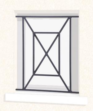 grilles de d fense leferronnier. Black Bedroom Furniture Sets. Home Design Ideas