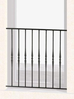 Garde corps de fenêtre en fer forgé Armelle