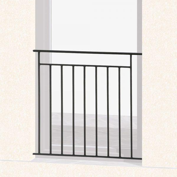 Garde corps de fenêtre en fer forgé Arthaud