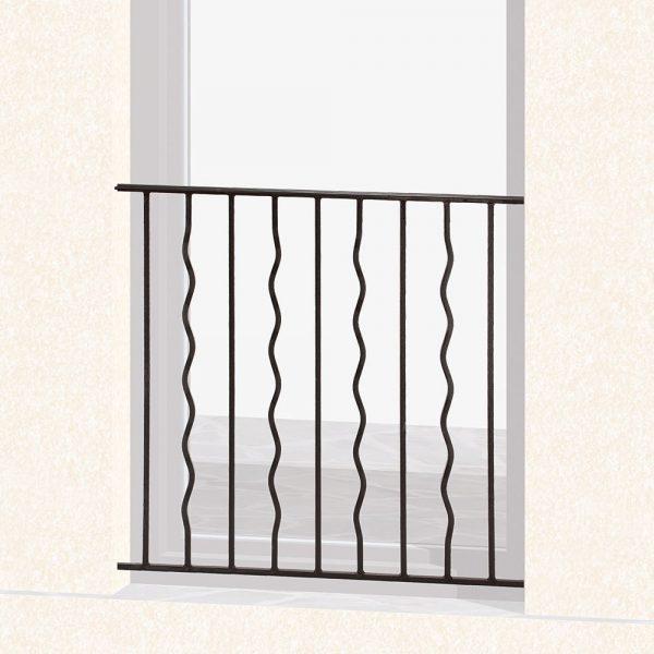 Garde corps de fenêtre en fer forgé Aurore
