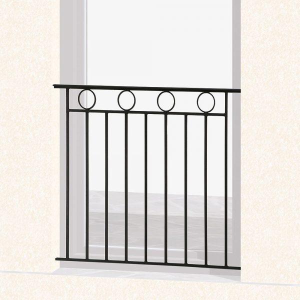 Garde corps de fenêtre en fer forgé Bonny