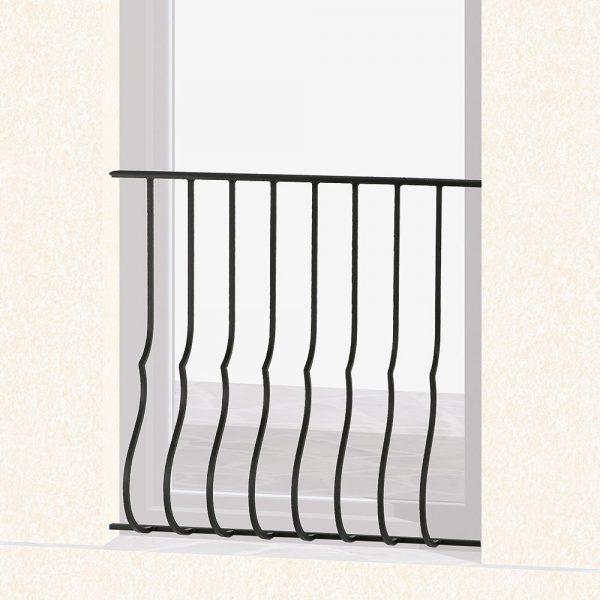 Garde corps de fenêtre en fer forgé Mélissa