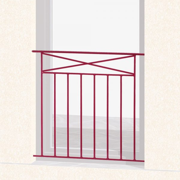 Garde corps de fenêtre en fer forgé Tara