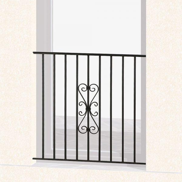 Garde corps de fenêtre en fer forgé Tony