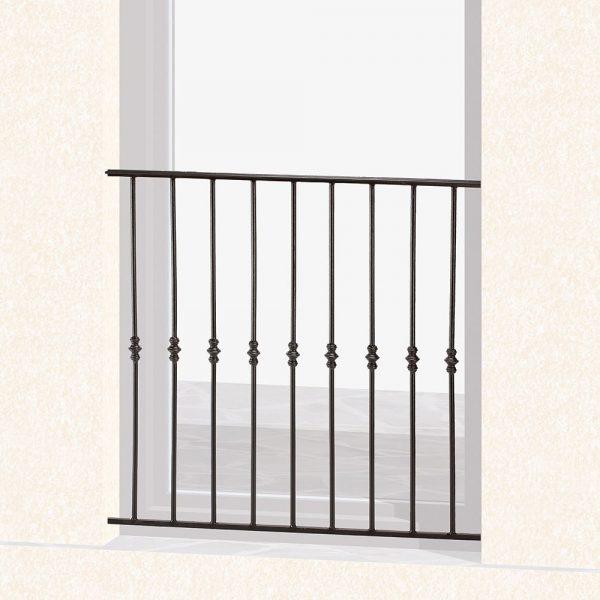 Garde corps de fenêtre en fer forgé Vincent
