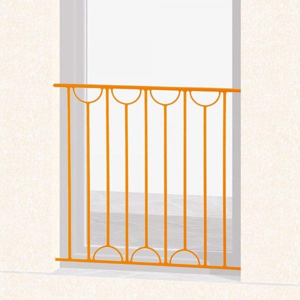 Garde corps de fenêtre en fer forgé Virginie