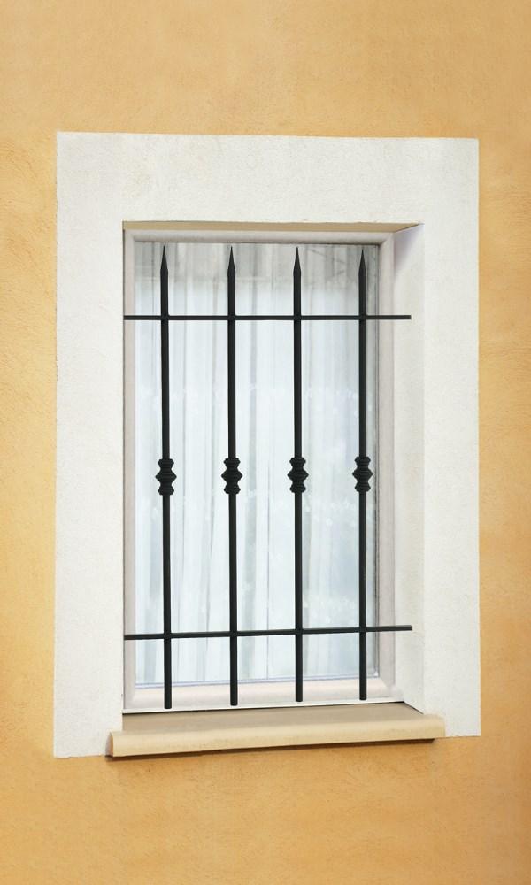 grille de fen tre en fer forg vincent leferronnier. Black Bedroom Furniture Sets. Home Design Ideas