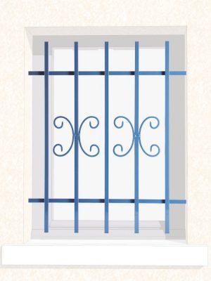 Grille de fenêtre en fer forgé Aude