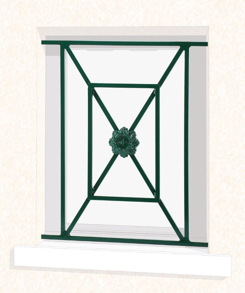 grille de fen tre en fer forg no mie leferronnier. Black Bedroom Furniture Sets. Home Design Ideas