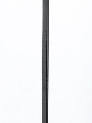Poteau de terminaison avec crosse pour garde corps
