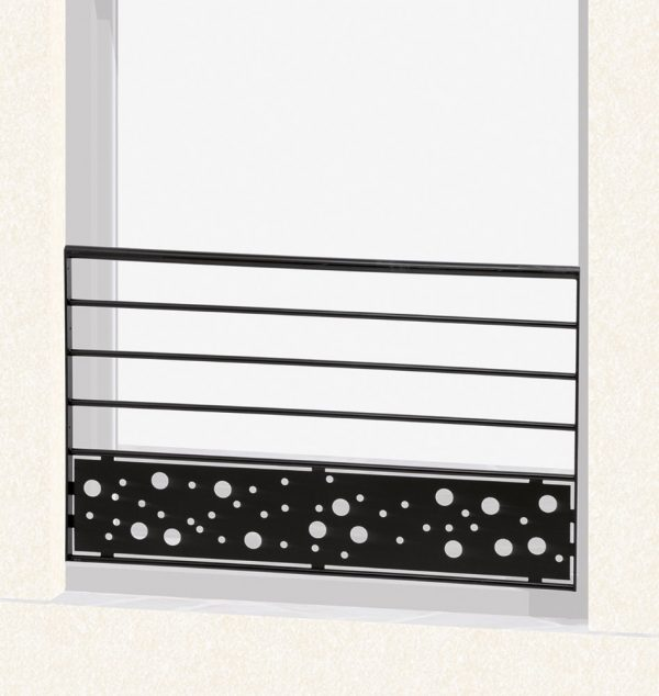 Garde corps de fenêtre en fer forgé Louane