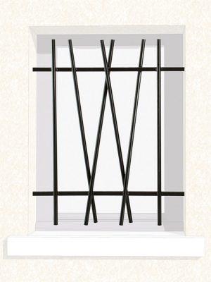 Grille de fenêtre en fer forgé Precilla