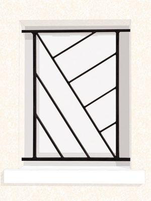 Grille de fenêtre en fer forgé Vonny