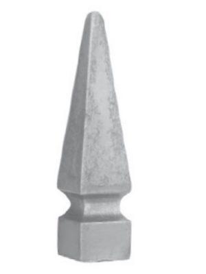 Lance en fer forge imprimee (FER121/9)