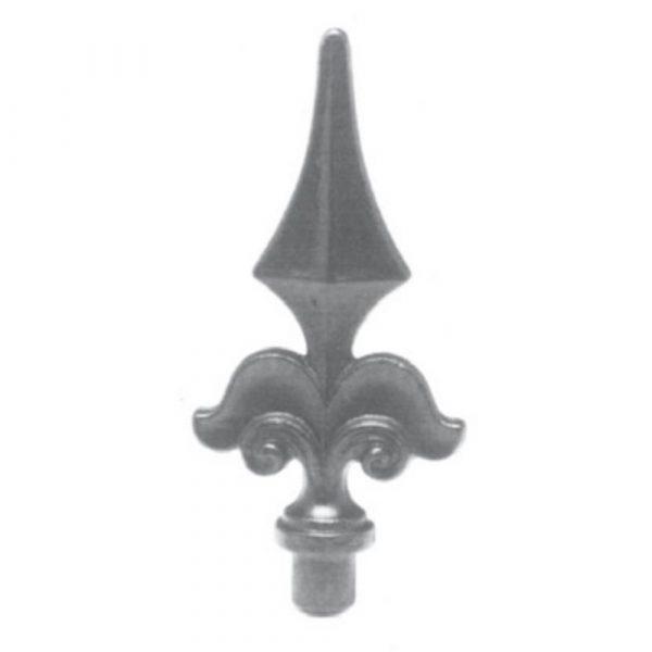 Lance en fer forge imprimee (FER126/A/1)