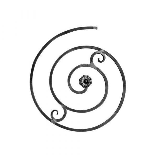 Panneau en fer forge (FER1038/2)