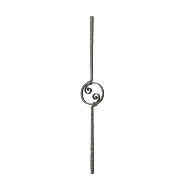 Panneau en fer forge (FER106/1)