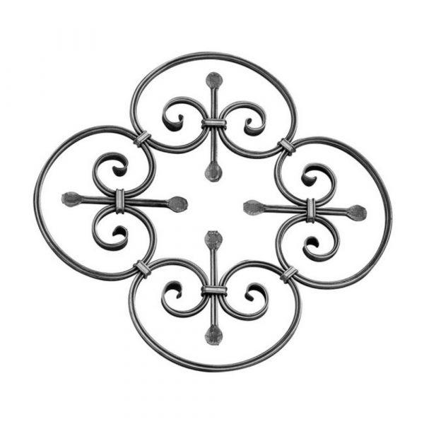 Rosace en fer forge (FER1011/2)
