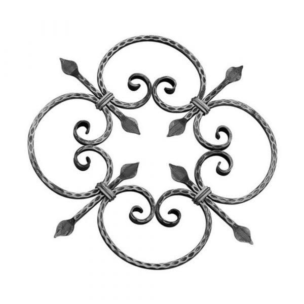 Rosace en fer forge (FER1011/3)