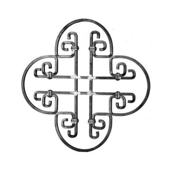 Rosace en fer forge (FER1028/2)