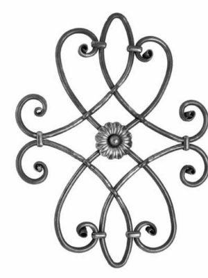 Rosace en fer forge (FER1641/1)