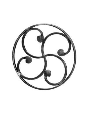 Rosace en fer forge (FER1653/1)