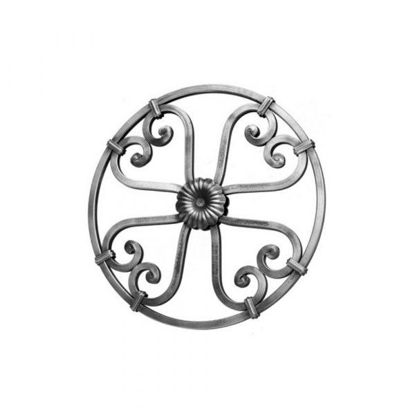 Rosace en fer forge (FER1659/1)