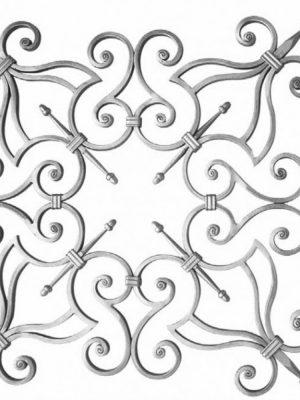 Rosace en fer forge (FERGD151/2)