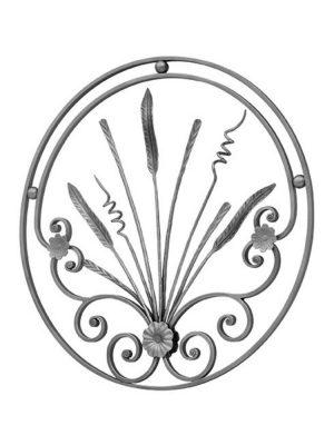 Rosace fer forge (FERGD268/2)