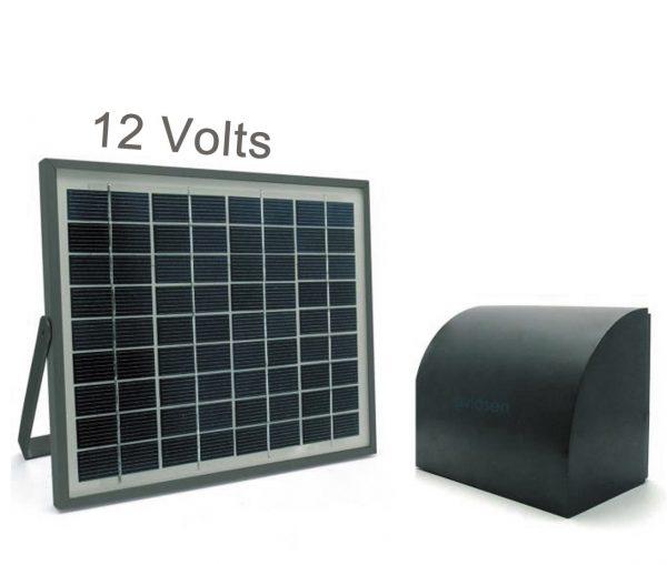 Alimentation solaire pour automatisme de portail 12V