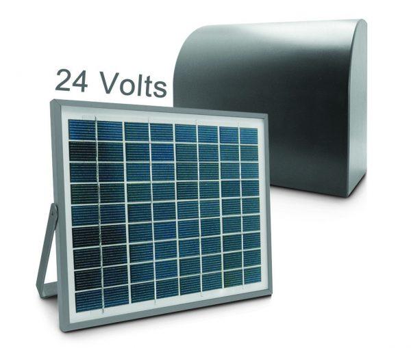 Alimentation solaire pour automatisme de portail 24V