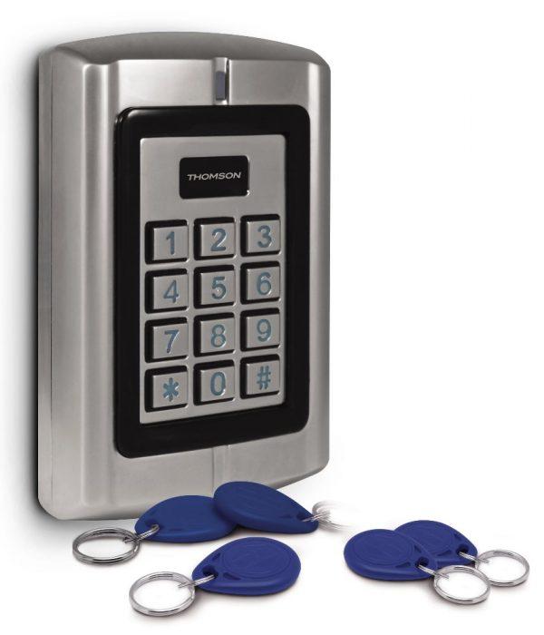 Clavier à codes filaire avec Badges RFID