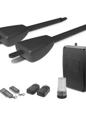 Kit motorisation télescopique portail à 2 battants 2x200Kg XPRO