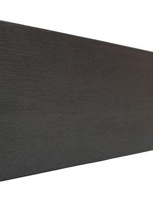 Lame de finition Gris Anthracite pour clôture composite