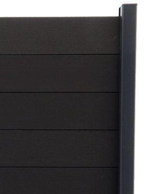 Lame Gris Anthracite pour clôture composite