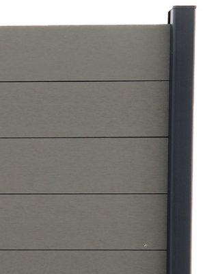 Lame Gris Quartz pour clôture composite